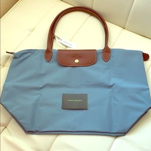 NWT Authentic Longchamp Le Pliage Large Shoulder